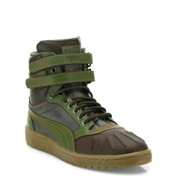 beaa79678170 Puma Sky II Hi Duck Leather Boots Sz 13. M 5b721c4f34a4ef4fe6af3878